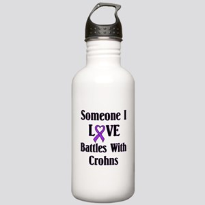 Crohns Stainless Water Bottle 1.0L