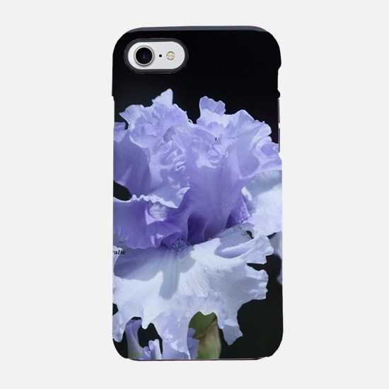 blue tall bearded iris iPhone 7 Tough Case