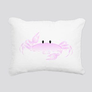Candy Crab Rectangular Canvas Pillow