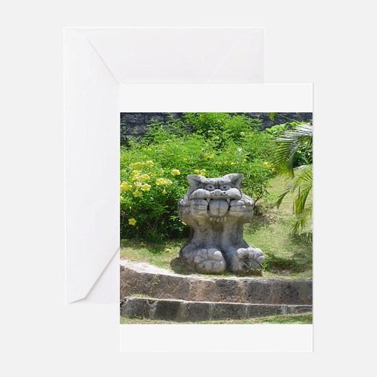 Churaumi Shisa Greeting Card