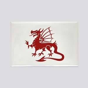 Dragon Rectangle Magnet