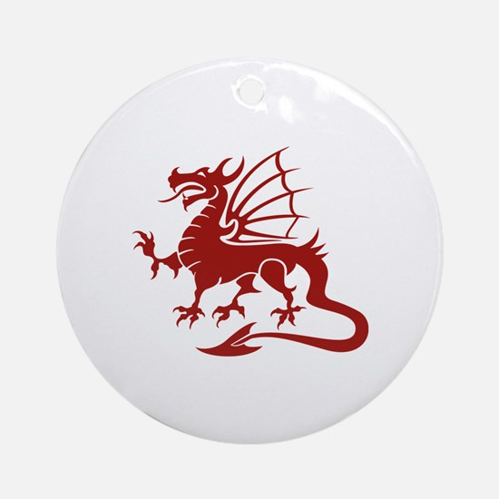 Dragon Ornament (Round)