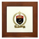 DUMOND Family Crest Framed Tile