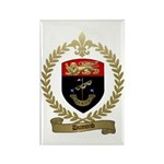 DUMOND Family Crest Rectangle Magnet