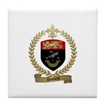 DUMOND Family Crest Tile Coaster