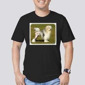 Lowchen 9L49D-11 Men's Fitted T-Shirt (dark)
