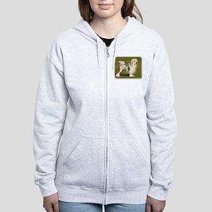 Lowchen 9L49D-11 Women's Zip Hoodie