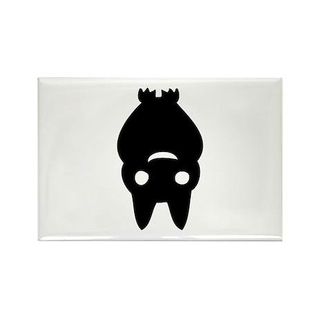 Funny Bat Rectangle Magnet