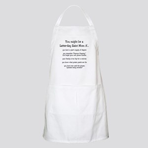 You might be an LDS Mom BBQ Apron