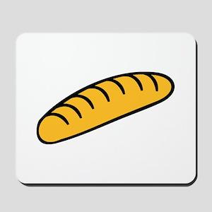 Baguette bread Mousepad