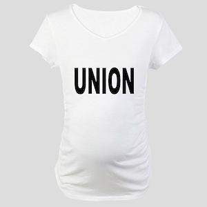 Union Maternity T-Shirt