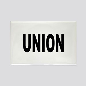 Union Rectangle Magnet