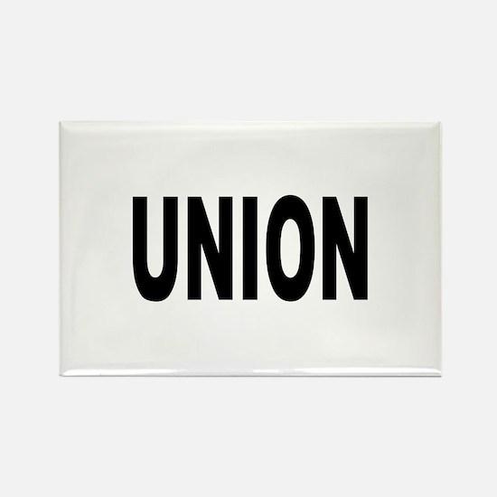 Union Rectangle Magnet