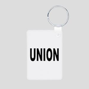 Union Aluminum Photo Keychain