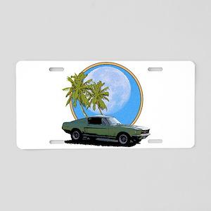 67 Mustang Aluminum License Plate