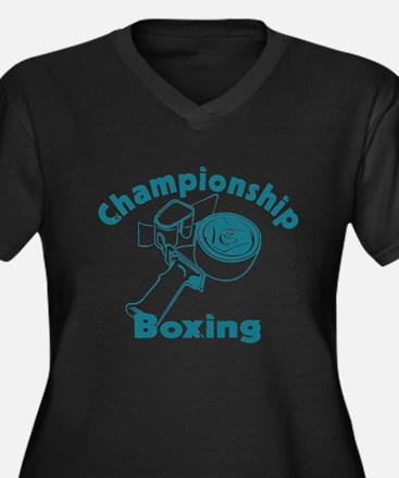Packing Boxing Shipping Women's Plus Size V-Neck D