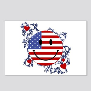 Fourth 4th Of July Postcards (Package of 8)