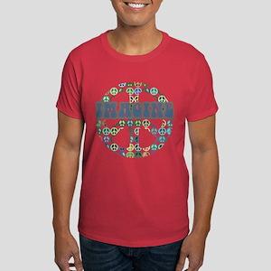 Cool 70s Retro Peace Dark T-Shirt