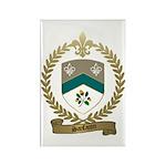 SANFACON Family Crest Rectangle Magnet (10 pack)