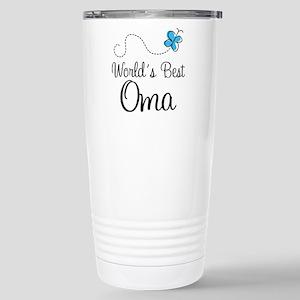 Oma (World's Best) Stainless Steel Travel Mug