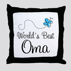 Oma (World's Best) Throw Pillow