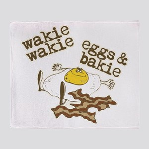 Rise and Shine Breakfast Throw Blanket