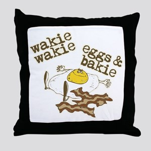 Rise and Shine Breakfast Throw Pillow