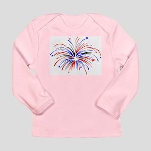 Fireworks Long Sleeve Infant T-Shirt