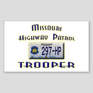 Missouri Highway Patrol Sticker (Rectangle)