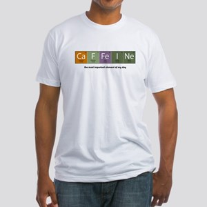 Caffeine Fitted T-Shirt
