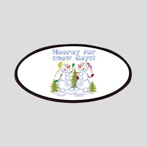 Funny Winter Snow Humor Patches