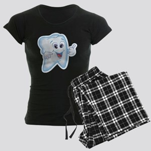 Funny Dentist Dental Humor Women's Dark Pajamas