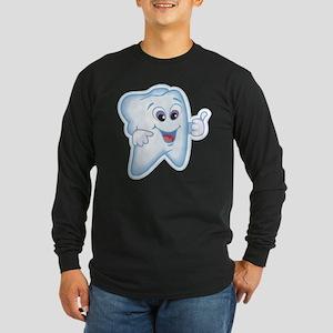 Funny Dentist Dental Humor Long Sleeve Dark T-Shir