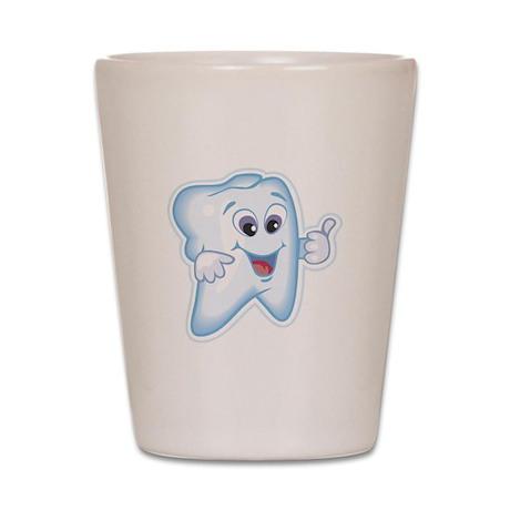 Funny Dentist Dental Humor Shot Glass