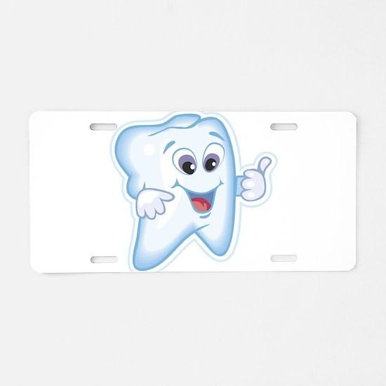 Funny Dentist Dental Humor Aluminum License Plate