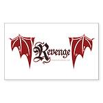Revenge Sticker (rectangle)