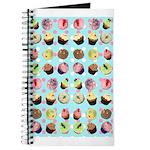 Polka Dot Cupcakes Journal
