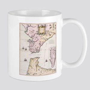 Vintage Map of The Strait of Gibraltar (1780) Mugs