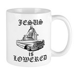 Jesus Is Lowered Mug