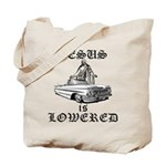 Jesus Is Lowered Tote Bag