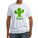 Hugs? Fitted T-Shirt