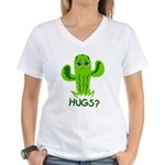 Hugs? Women's V-Neck T-Shirt