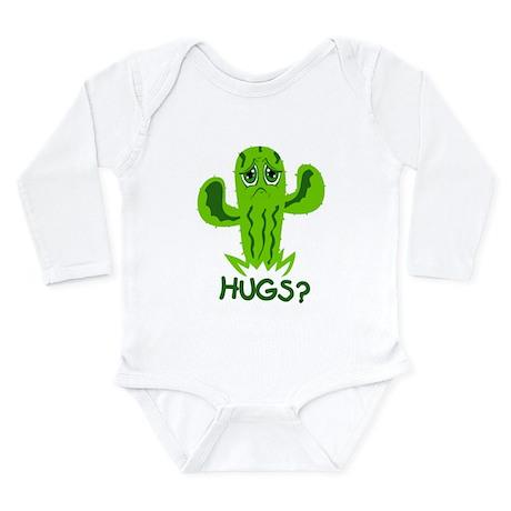 Hugs? Long Sleeve Infant Bodysuit