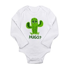 Hugs? Long Sleeve Infant Bodysuit