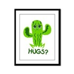 Hugs? Framed Panel Print
