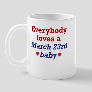 March 23rd Mug