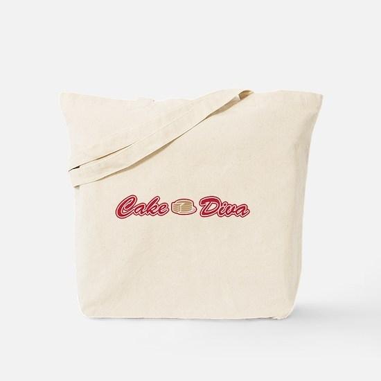 Cake Diva Tote Bag