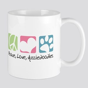 Peace, Love, Aussiedoodles Mug