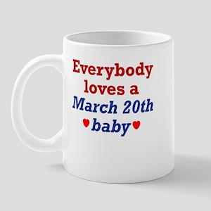 March 20th Mug