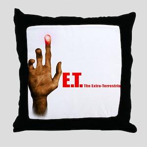 E.T. The Movie Throw Pillow